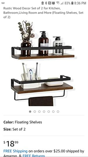 Cozia floating wall shelves for Sale in Hollywood, FL