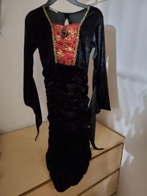 Girl vampire costume medium size for Sale in Temecula, CA
