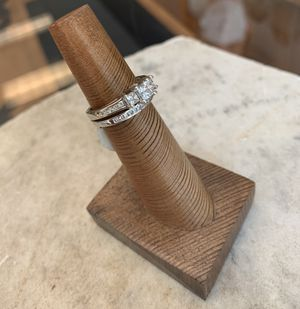 Engagement ring, wedding bands (w and m) for Sale in Pittsburgh, PA