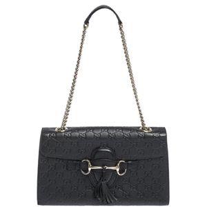 Black Gucci Leather Bag for Sale in Utica, MI