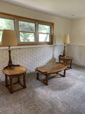 Coffee table set for Sale in Bolingbrook, IL