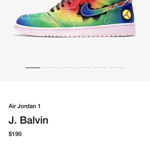 J Balvin Air Jordan 1 High for Sale in Las Vegas, NV
