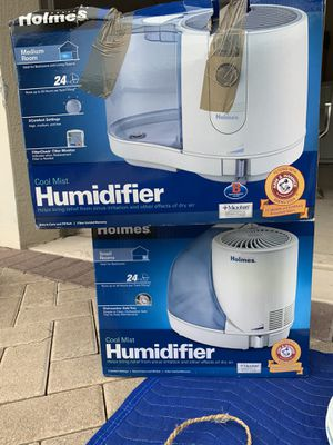 2 COOL MIST HUMIDIFIERS for Sale in Parkland, FL