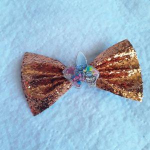 Trolls glitter orange hair bow for Sale in San Bernardino, CA