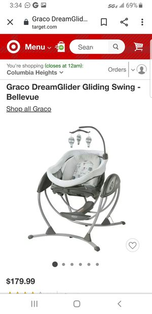 Graco baby swing. Good as new for Sale in Ashburn, VA