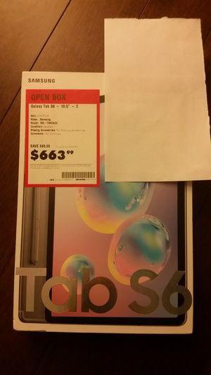 Samsung Galaxy Tab S6, 256gb for Sale in Woodland Park, NJ