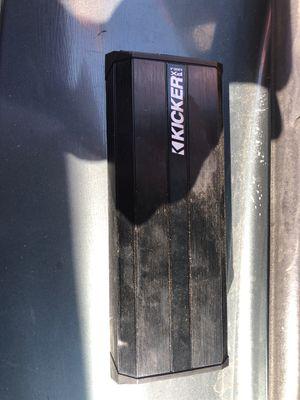 Kicker amp 4 channels for Sale in Compton, CA