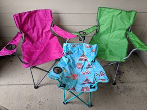 Camping Chairs bundle (pick up only) for Sale in Broadlands, VA