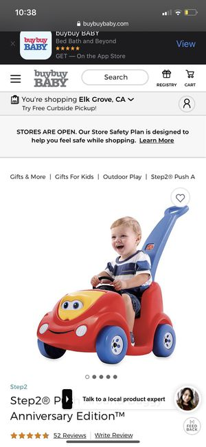 Toddler push pull buggy for Sale in Sacramento, CA
