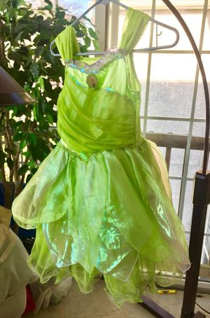 TinkerBell Dress. From the Disney Store, not a 3rd party manufacturer. (BIG difference in quality!) Also matching Light Up shoes. I HAVE OTHER... for Sale in UPR MAKEFIELD, PA