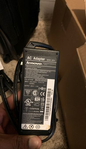 Lenovo Laptop Adapater for Sale in Leander, TX