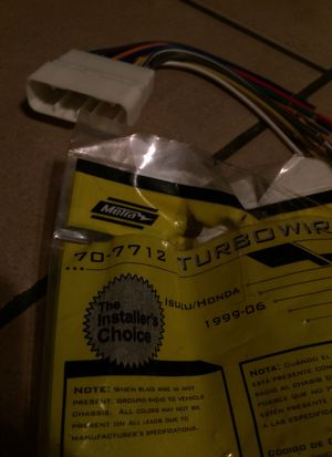 Radio Wire harness for Honda Passport 96-0/Isuzu 95-04. for Sale for sale  Spring Valley, CA