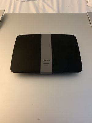Linksys AC1200 Dual Band Smart WiFi Router with NAS USB port for storage for Sale in Lake Mary, FL