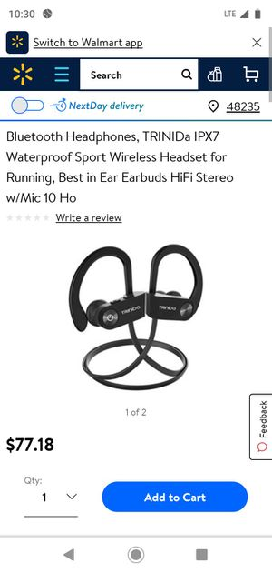 Bluetooth headphones for Sale in Detroit, MI
