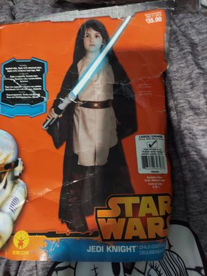Star wars kids costume size Lg 12-14 for Sale in La Habra, CA
