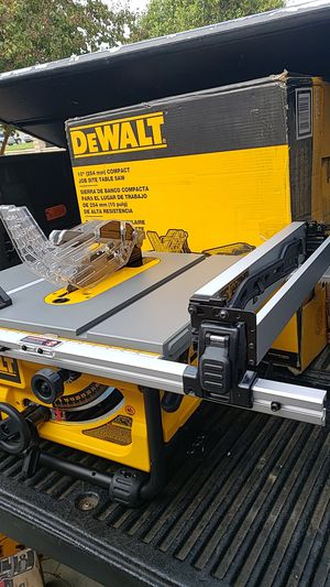 """DEWALT TABLE SAW 10"""" for Sale in Rancho Cucamonga, CA"""