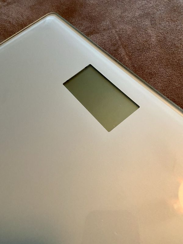 Weight Watchers Glass Digital Bathroom Scale Measures Pounds Lbs AND Kilograms Kilos TESTED AND WORKS GREAT