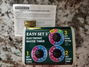 Electronic Water Timer for Sale in Pompano Beach, FL