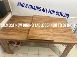 Brand new table and 8 chairs for Sale in Miami, FL