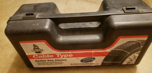 Tire Snow Chains - Cable Type. Laclede for Sale in Ontario, CA