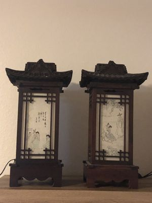 2 Chinese Lamps for Sale in Cooper City, FL