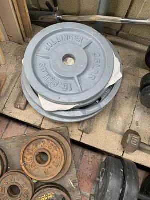 OLYPMPIC WEIGHTS for Sale in Perris, CA