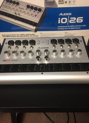 ALESIS I/O 26 channel High Quality Audio Interface!!-$99/Offer for Sale in Streetsboro, OH