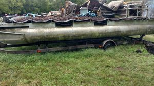 Pontoon boat trailer bargain for Sale in Pipe Creek, TX