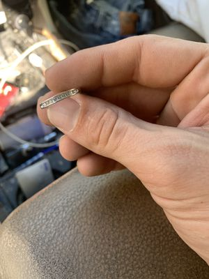 Wedding band ring diamond for Sale in Columbus, OH