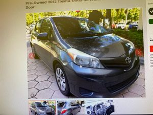 Pre owned 2012 Toyota Yaris for Sale in Miramar, FL