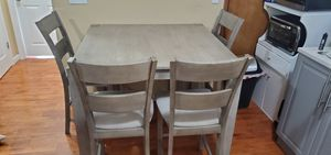 Stratford Hayden Gray Counter-Height 5-Piece Dining Set For $180 for Sale in West New York, NJ