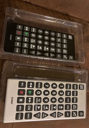 2 Jumbo Universal Remotes for Sale in Durham, NC