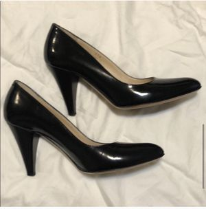 "Coach Black Patent Leather 3.5"" Heels Size 5 1/2 for Sale in Newark, NJ"