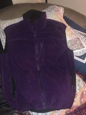 Western marine fleece vest for Sale in Sun City, AZ