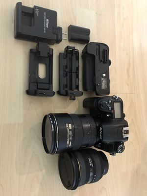 Nikon D7000 and lenses for sell !!! for Sale in San Diego, CA