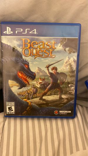 Beast quest ps4 game for Sale in Lathrop, CA