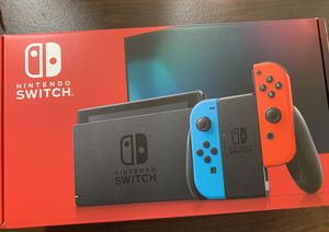 Nintendo Switch console Brand new! Neon joycons version 2 for Sale in Wadsworth, OH