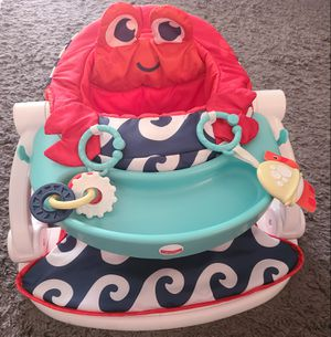 Fisher Price sit me up baby folding chair with tray for Sale in Pembroke Park, FL