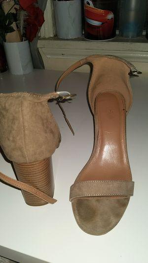 Suede brown charlotte russe heels size 8 for Sale in Los Angeles, CA
