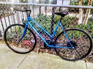 Panasonic 26in electric blue single speed racer for Sale in Chicago, IL