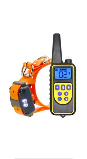 Dog Shock Collar With Remote Waterproof Electric For Large 880 Yard Pet Training for Sale in Missouri City, TX
