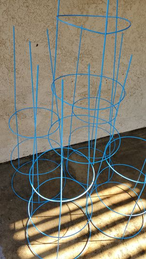 Blue Tomato Cages (large) for Sale in Diamond Bar, CA