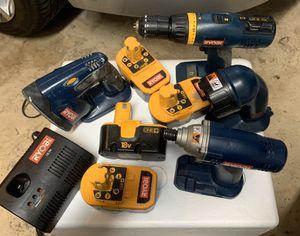 Ryobi power tool set for Sale in Fort Lauderdale, FL