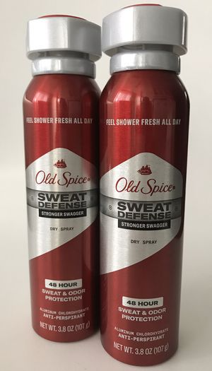 Old Spice Sweat Defense Anti Perspirant 3.8 oz 2 pack for Sale in San Diego, CA
