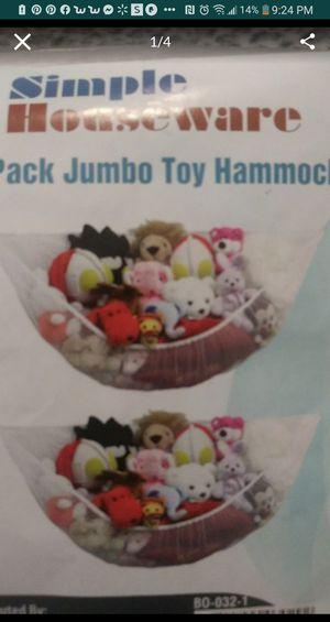 2 jumbo pack Toy organizer for Sale in Fresno, CA