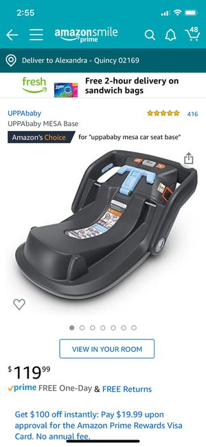 UPPA Baby MESA car seat base for Sale in Milton, MA