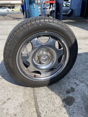 Mercedes Benz 205/55/R16 rims and tires for Sale in San Diego, CA