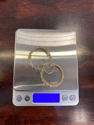 10k Hoops ,3.2 grams @@@@@@$150 for Sale in Dallas, TX