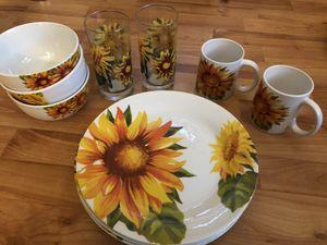 FREE Dish Set and Silverware for Sale in Petaluma, CA