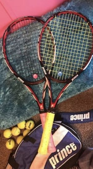 Prince Couples His/ Hers Tennis Rackets for Sale in Wichita, KS